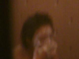 【民家盗撮】近所のお姉さんがお風呂場で顔を洗っているところを隠し撮り